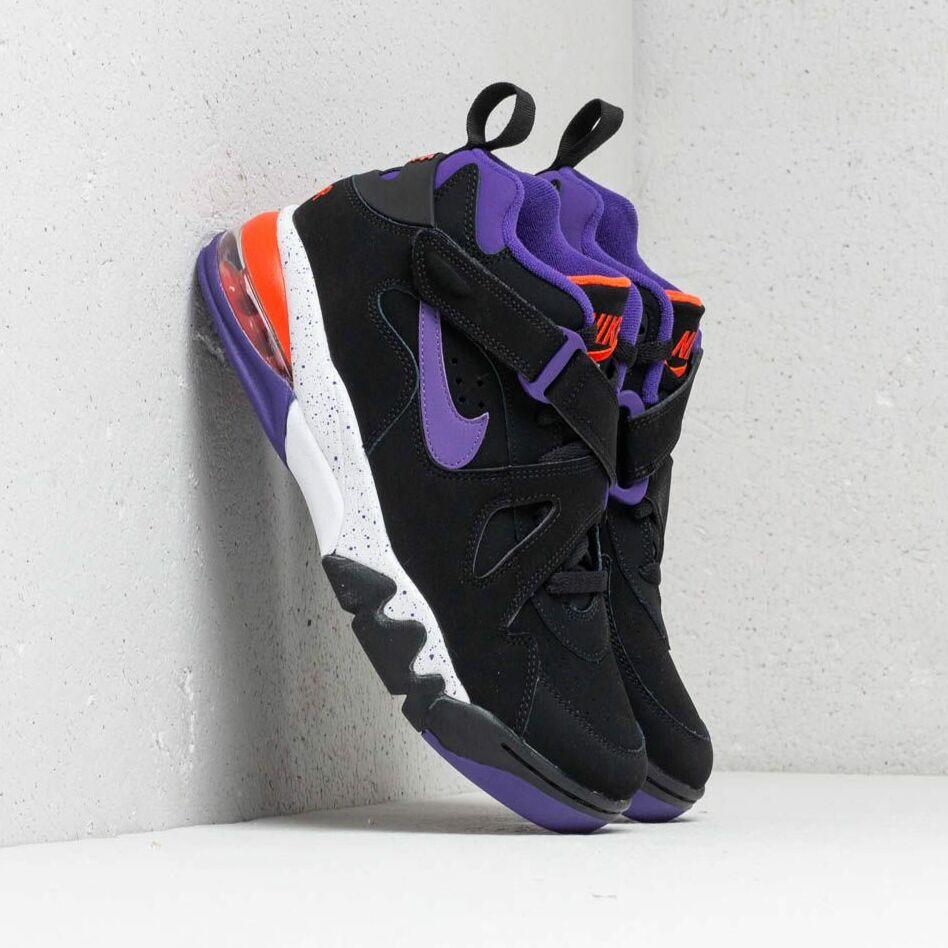 Nike Air Force Max CB Black/ Court Purple-Team Orange EUR 42