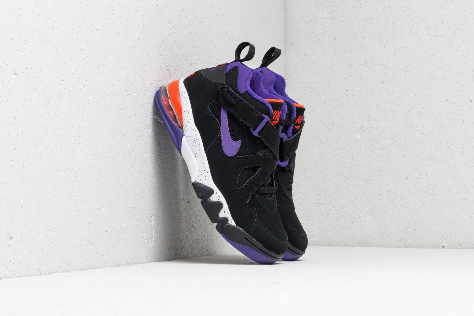 Nike Air Force Max CB Black  Court Purple-Team Orange at a great price ab97160d6