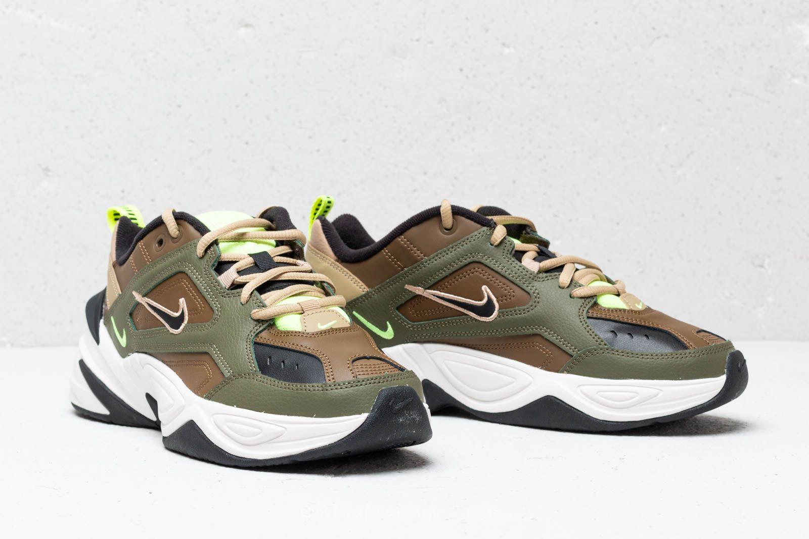 Nike M2K Tekno Wmns Medium Olive Black Yukon Brown | Footshop