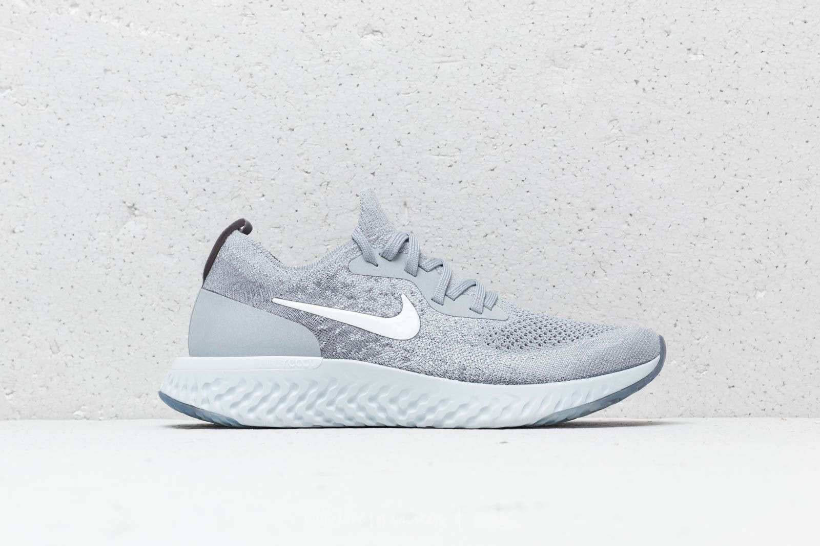 28e5bdbc668 Nike WMNS Epic React Flyknit Wolf Grey  White-Cool Grey at a great price