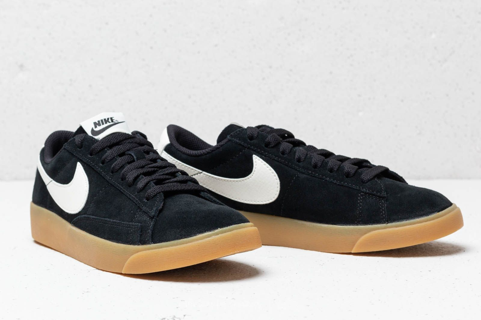 brand new 6b152 363b8 Nike W Blazer Low SD Black/ Black-Sail | Footshop
