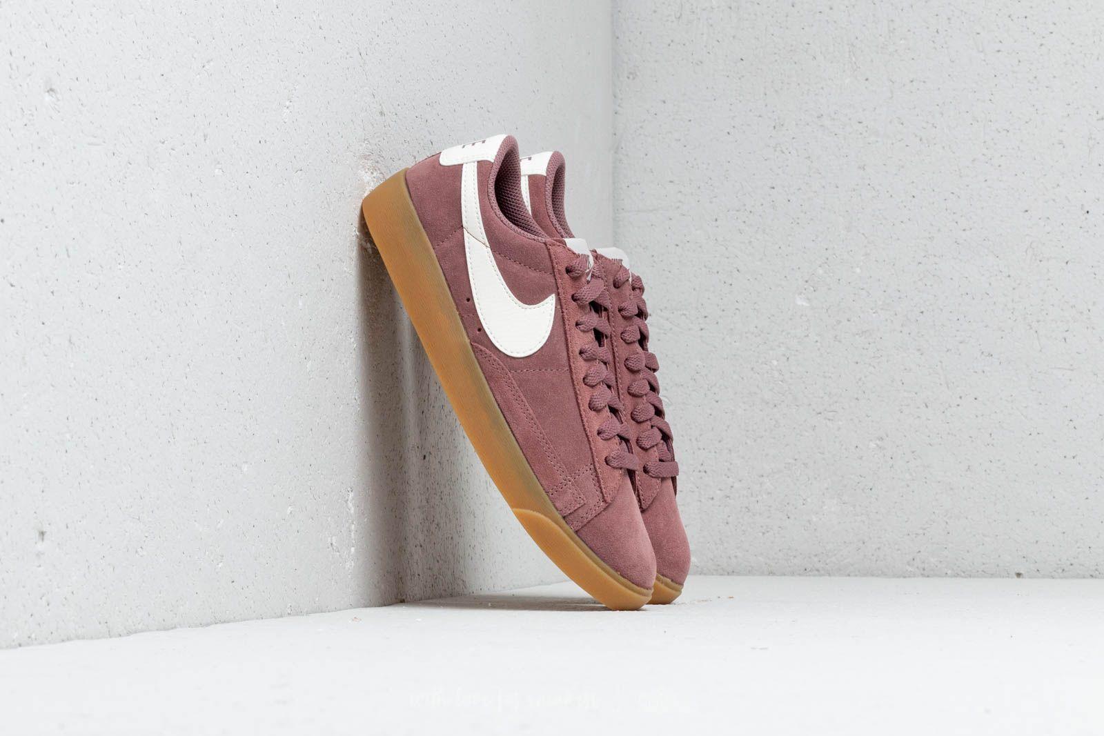 Nike W Blazer Low Sd Smokey Mauve Smokey Mauve Sail Footshop