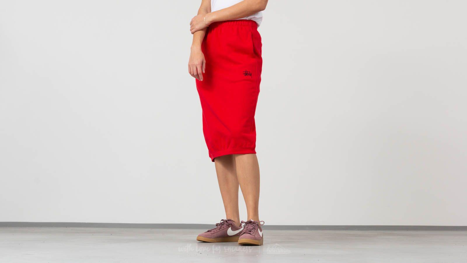 Stüssy Scout Skirt Red za skvělou cenu 800 Kč koupíte na Footshop.cz