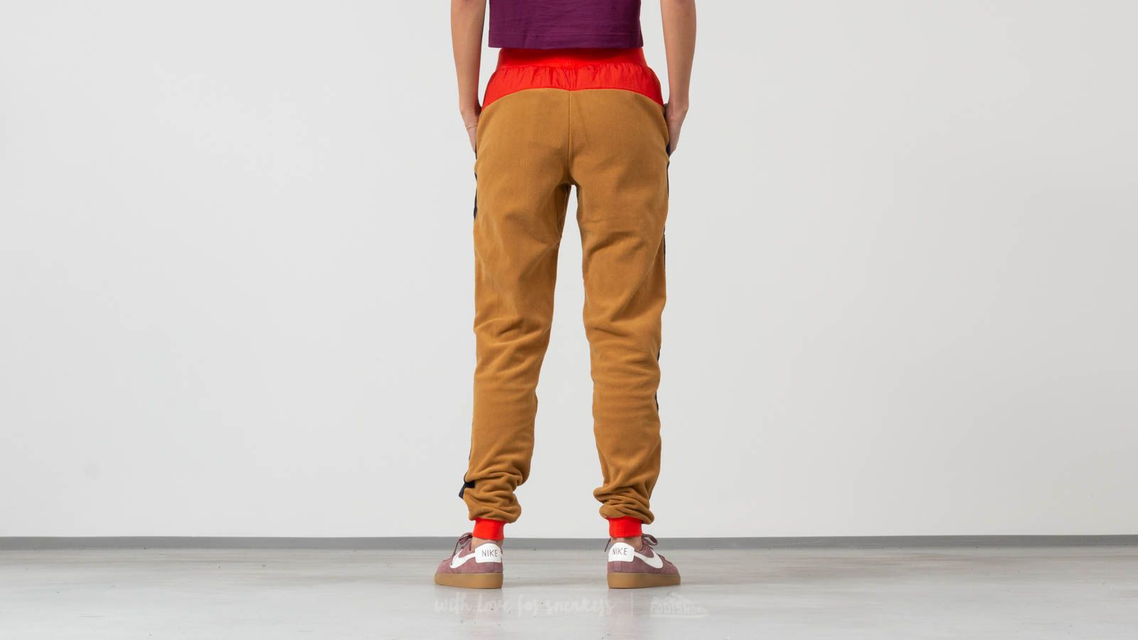 b2d794dc42b2 Nike Sportswear Polar Pants Beige  Red at a great price 51 € buy at Footshop