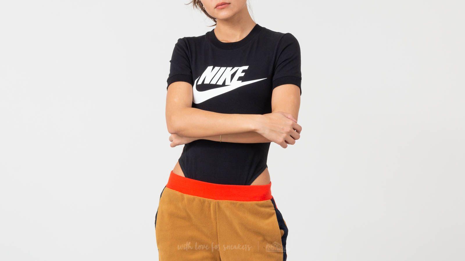 Nike Sportswear Essential Body Suit Tee Black/ White W super cenie 132 zł kupuj na Footshop.pl
