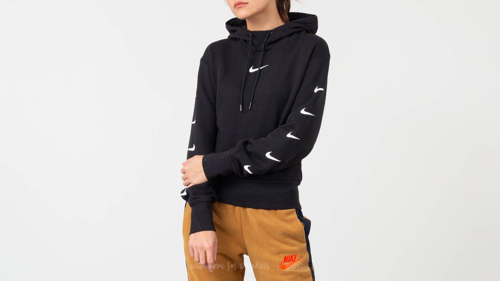 Nike Sportswear Swoosh Hoodie Black