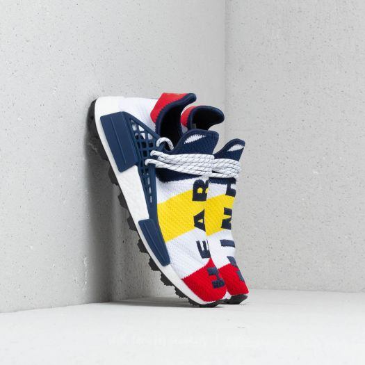 detailed look 87b8b f96cb adidas x Pharell Williams BBC Hu NMD Scarlet/ Multicolor ...