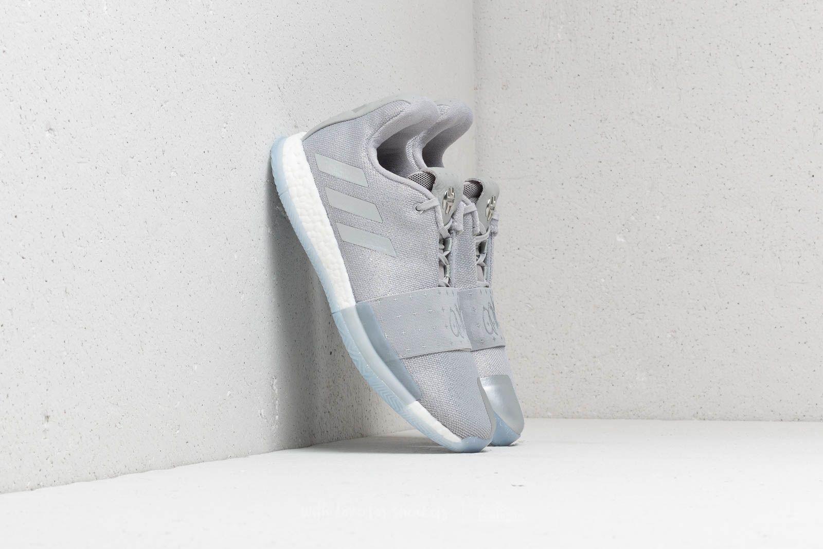 sports shoes df937 c9882 adidas Harden Vol. 3. Grey Two  Silver Metallic  Aero Blue