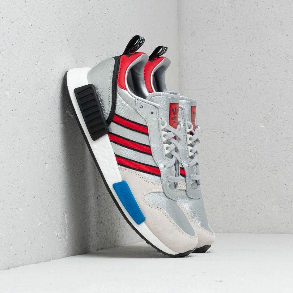 adidas Rising Star x R1 Silver Metallic/ Collegiate Red/ Ftw White EUR 42