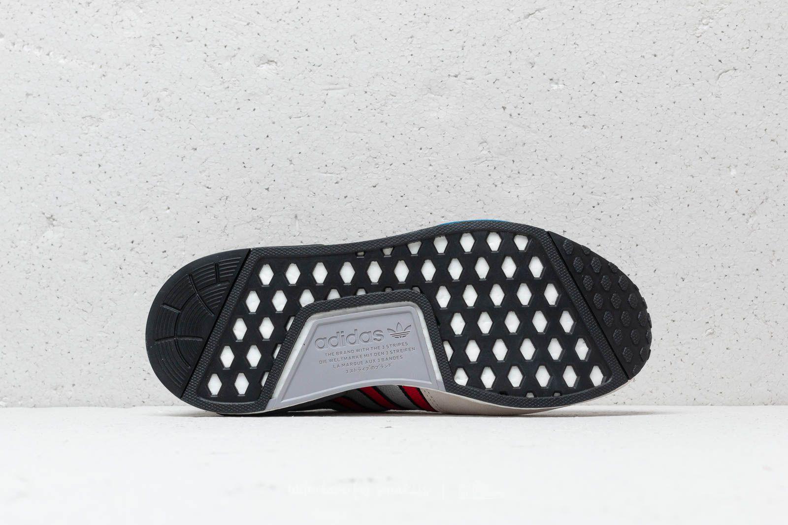 adidas Rising Star x R1 Silver Metallic Collegiate Red Ftw