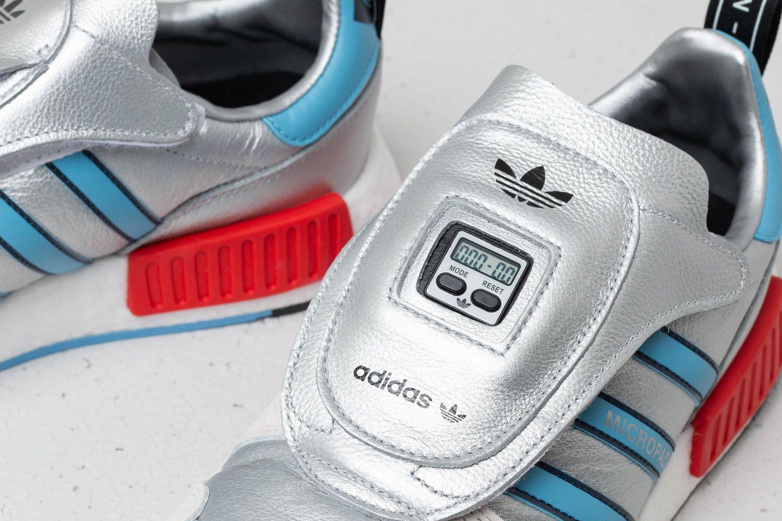 3e5f7f9a27d19 R1 X Silver Micropacer Light Footshop White Adidas Blue Ftw Metallic PwE6Tq