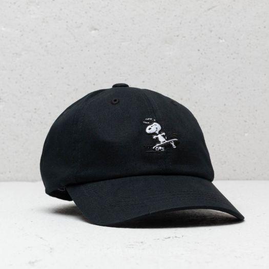 HUF x Peanuts Snoopy SK8 6 P Cap Black  633851c3a61a