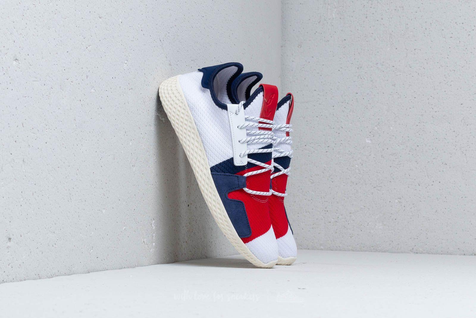 adidas x Pharrell Williams BBC Hu V2 Footwear White/ Scarlet za skvělou cenu 3 350 Kč koupíte na Footshop.cz