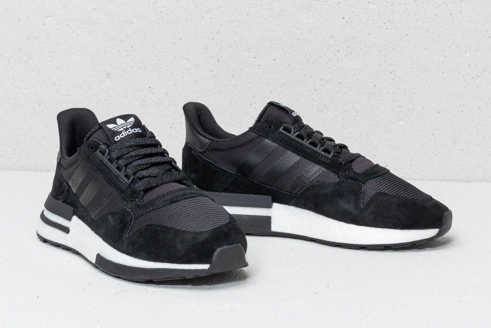 new style a4e90 ad4b6 adidas ZX 500 RM Core Black/ Ftw White/ Core Black | Footshop