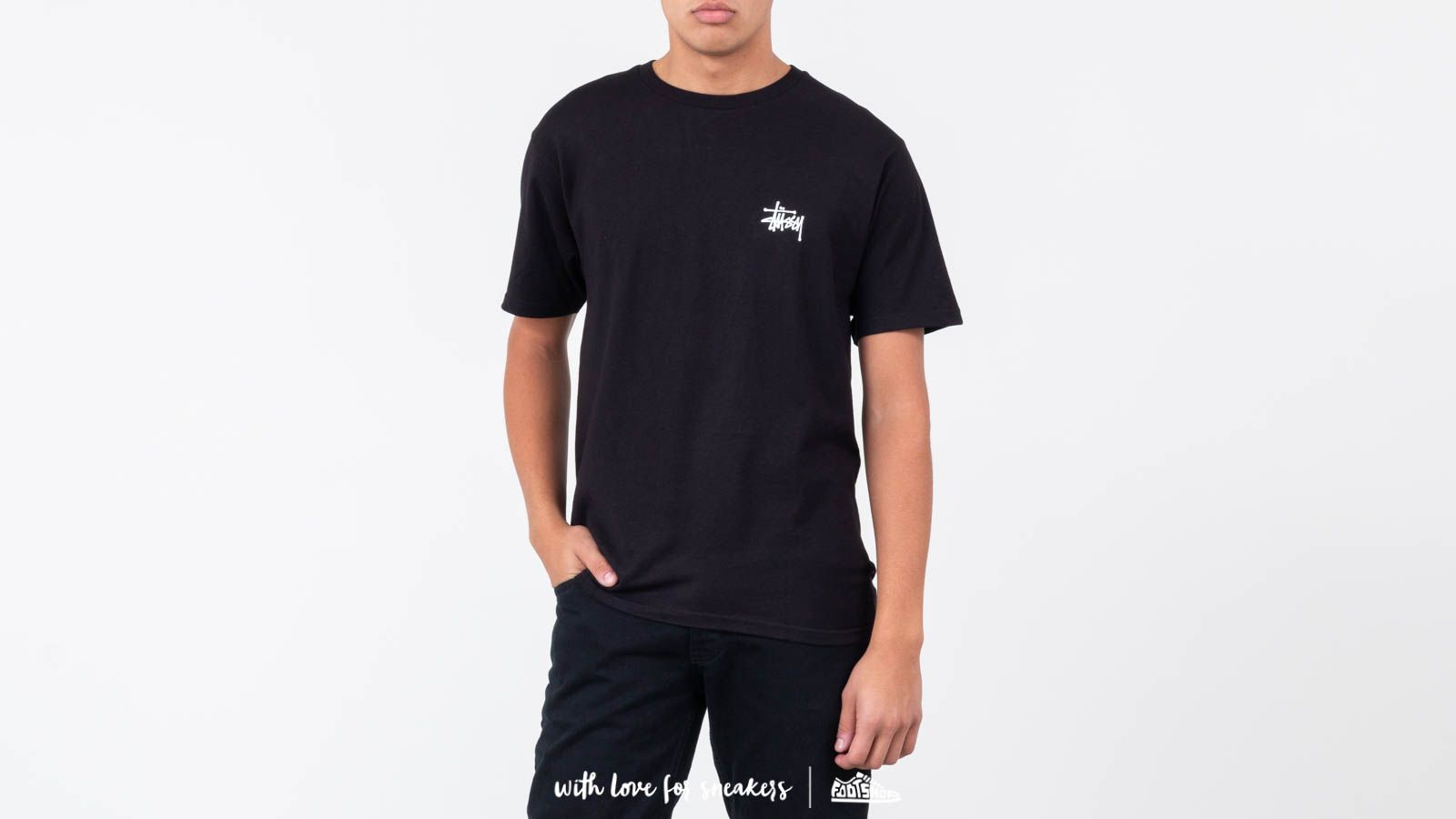 Stüssy Basic Tee Black