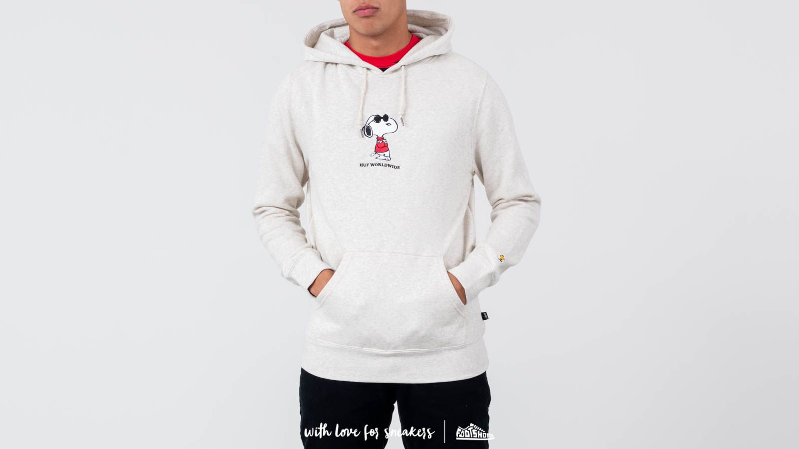 HUF x Peanuts Snoopy Cool Pulover Hoodie