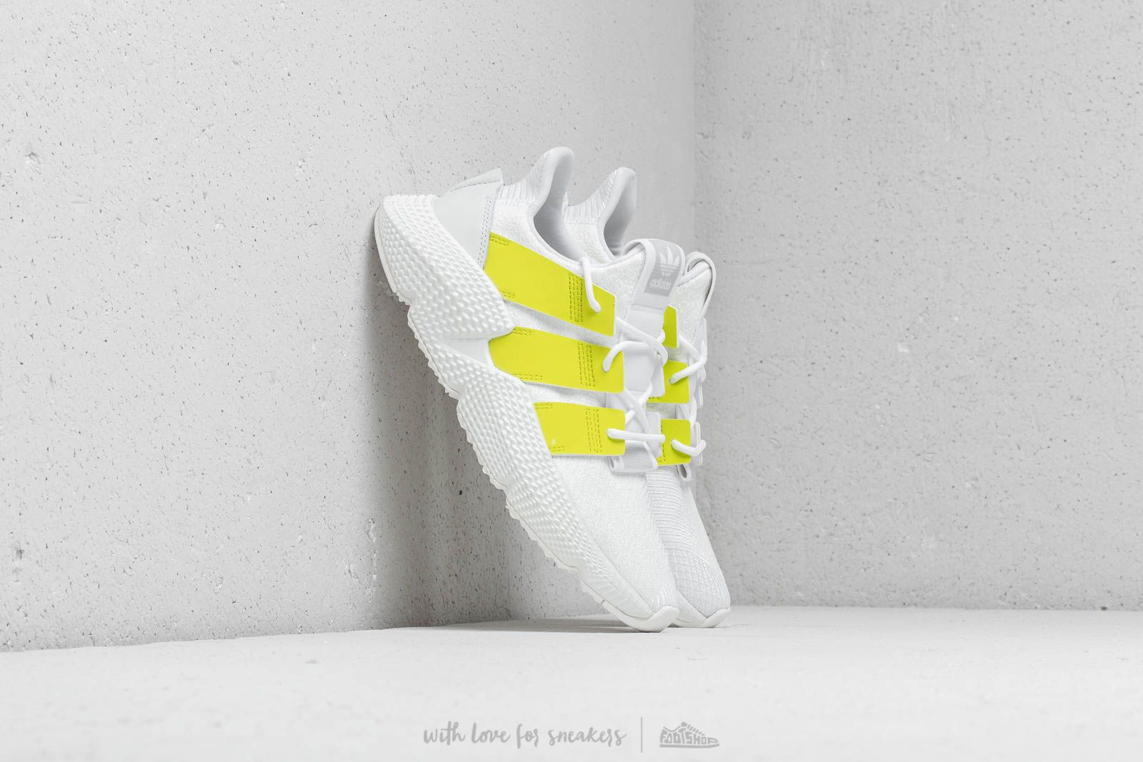 quality design d8feb aef93 adidas Prophere W Ftw White Semi Solar Yellow Crystal White at a great  price
