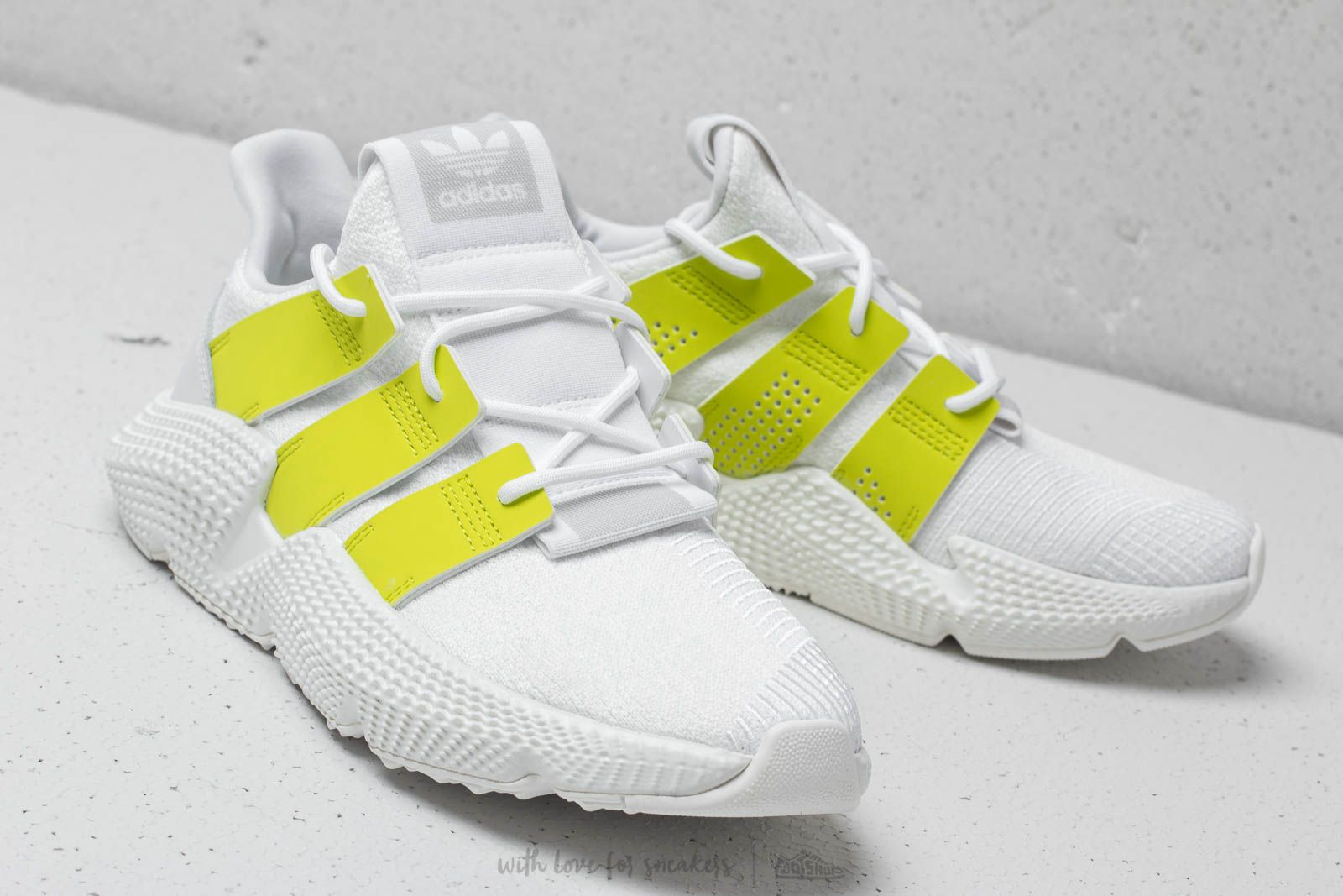 adidas Prophere W Ftw White Semi Solar Yellow Crystal White | Footshop