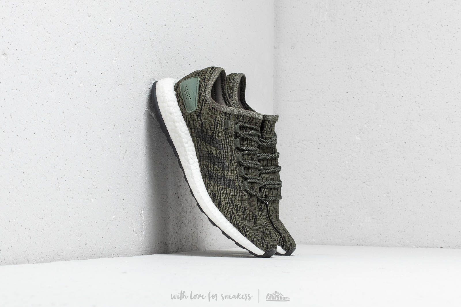 adidas PureBOOST Base Green/ Core Black/ Core Black