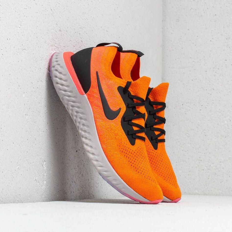 Nike Epic React Flyknit Copper Flash/ Black EUR 41