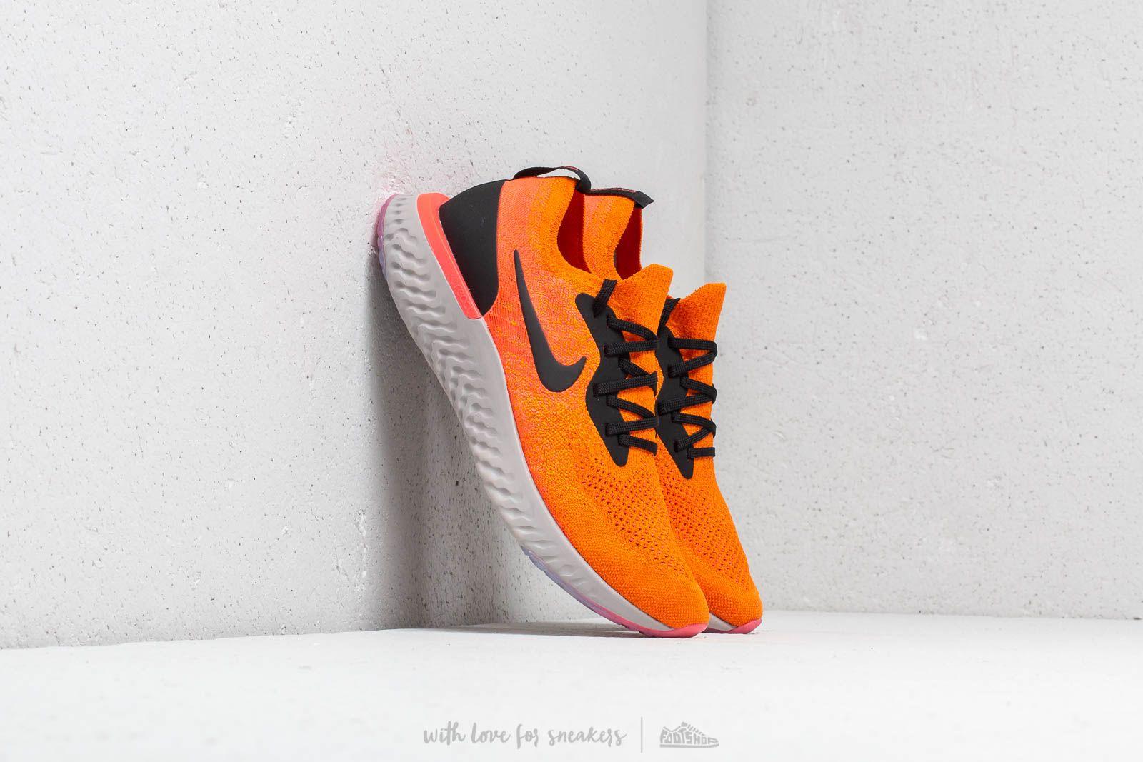 Pánské tenisky a boty Nike Epic React Flyknit Copper Flash/ Black