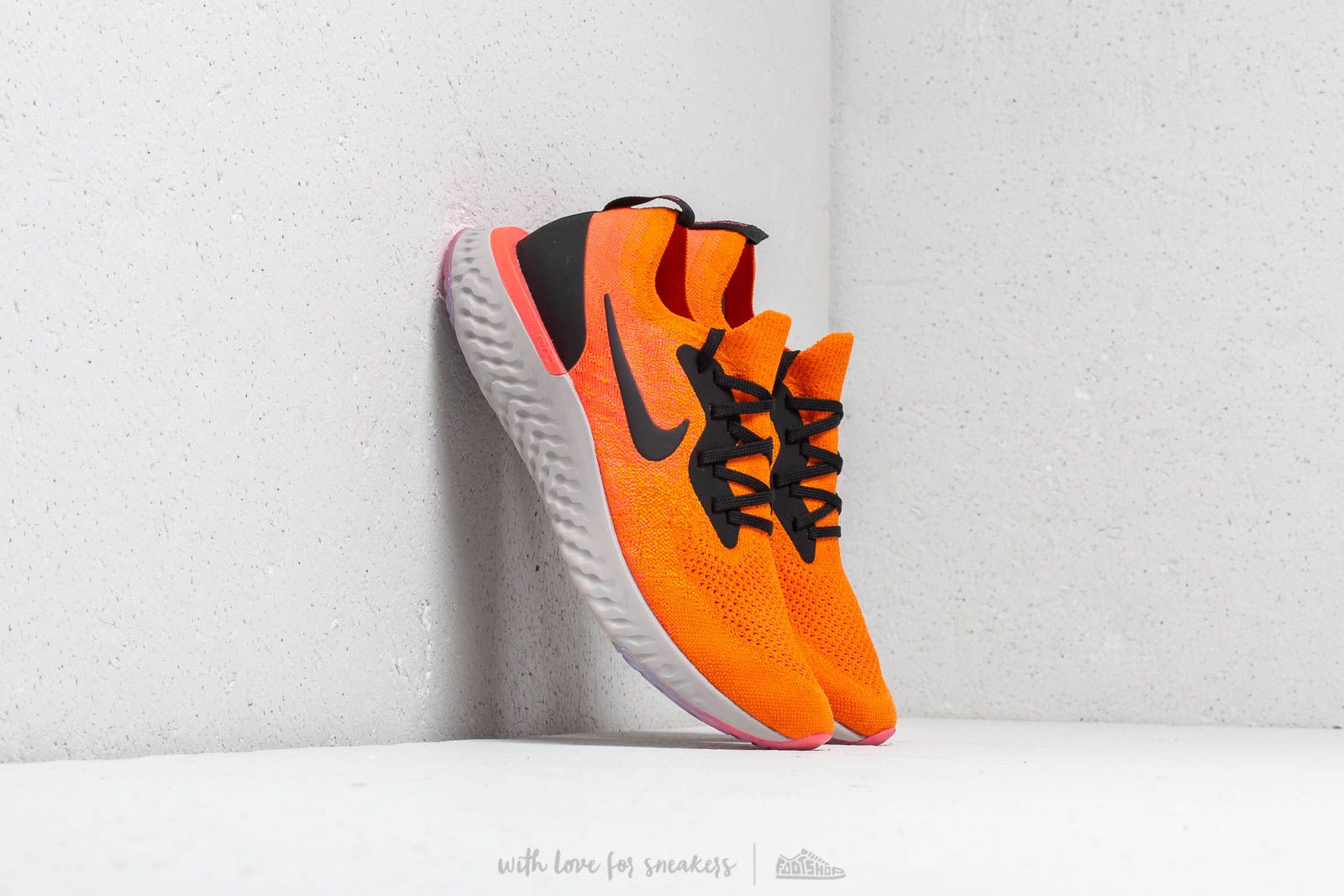 1e662130c7e0 Nike Epic React Flyknit Copper Flash  Black at a great price 147 € buy at