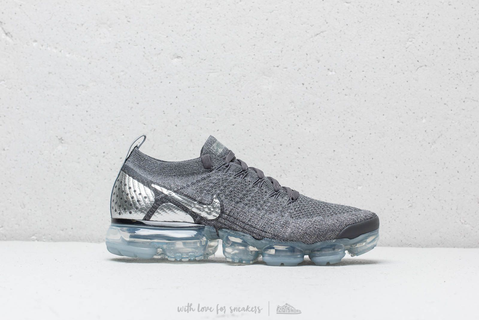 47c1dd56e6d6 Nike Air Vapormax Flyknit 2 Dark Grey  Chrome-Dark Grey at a great price