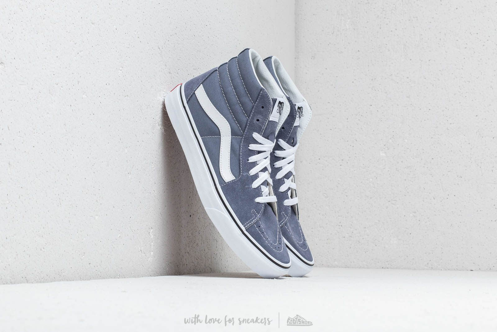 Vans Sk8-Hi Grisaille  True White at a great price 91 € buy at 69bab97cf