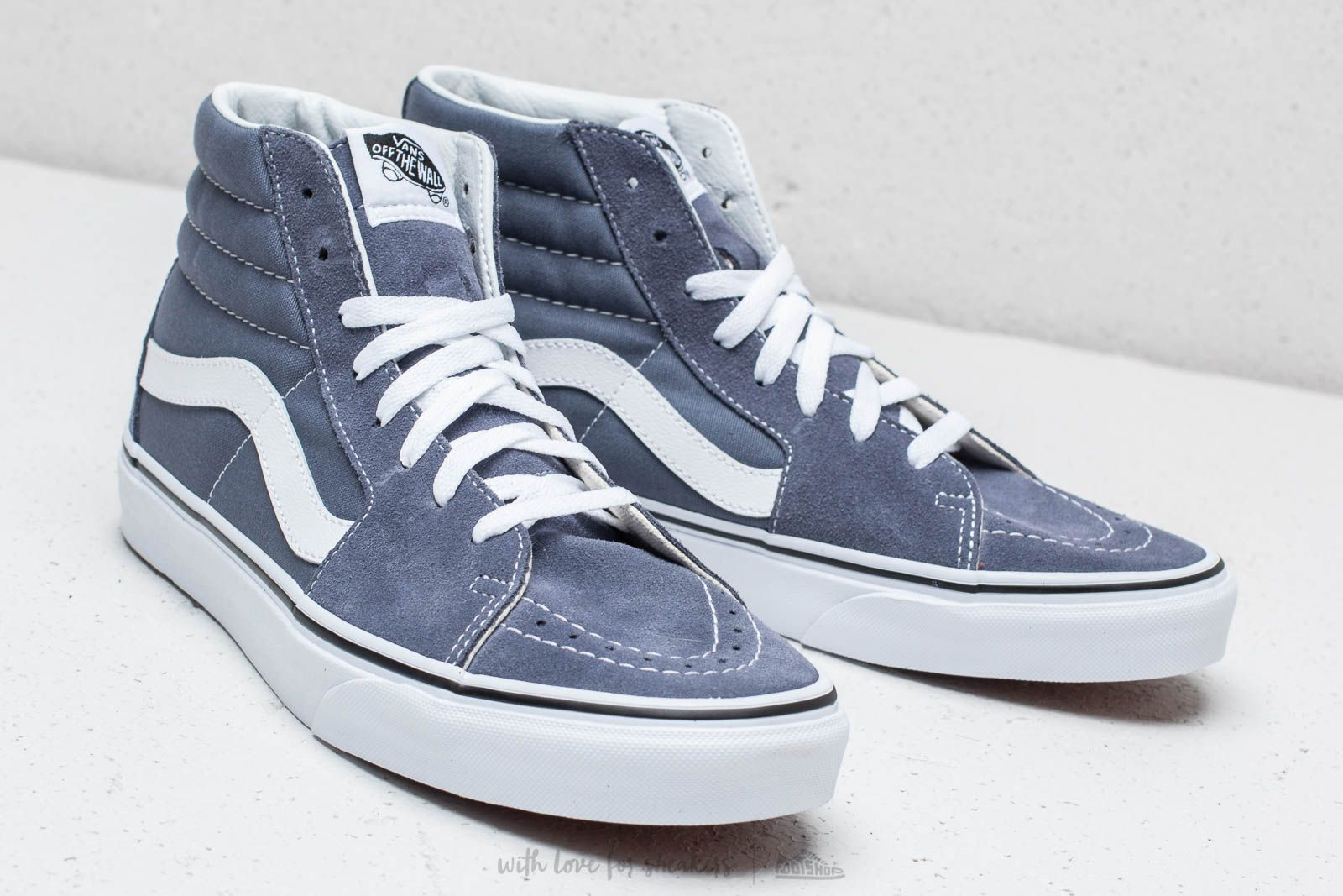 40eb34176d0 Vans Sk8-Hi Grisaille  True White at a great price £64 buy at
