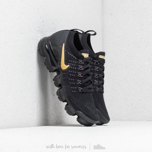 save off 1cd2c 3e6b5 Nike Air Vapormax Flyknit 2 W Black/ Metallic Gold | Footshop