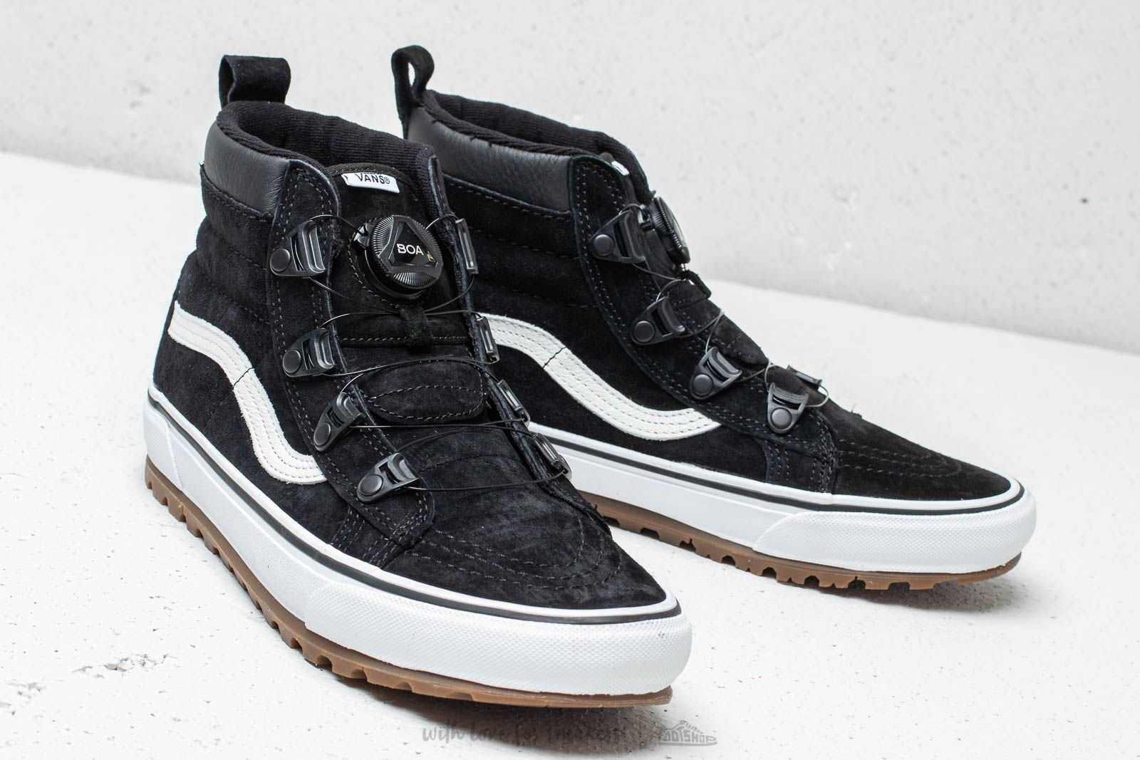 Vans Sk8-Hi BOA (MTE) Black/ True White | Footshop