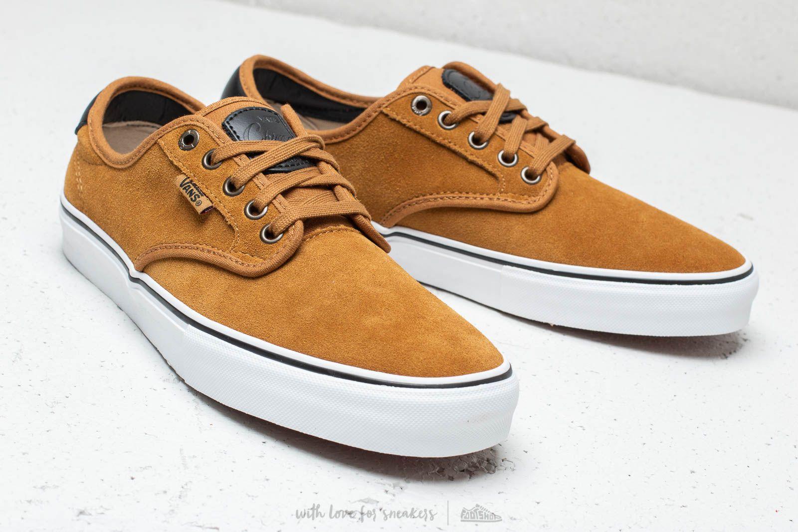 vans chima ferguson pro cumin & black shoes
