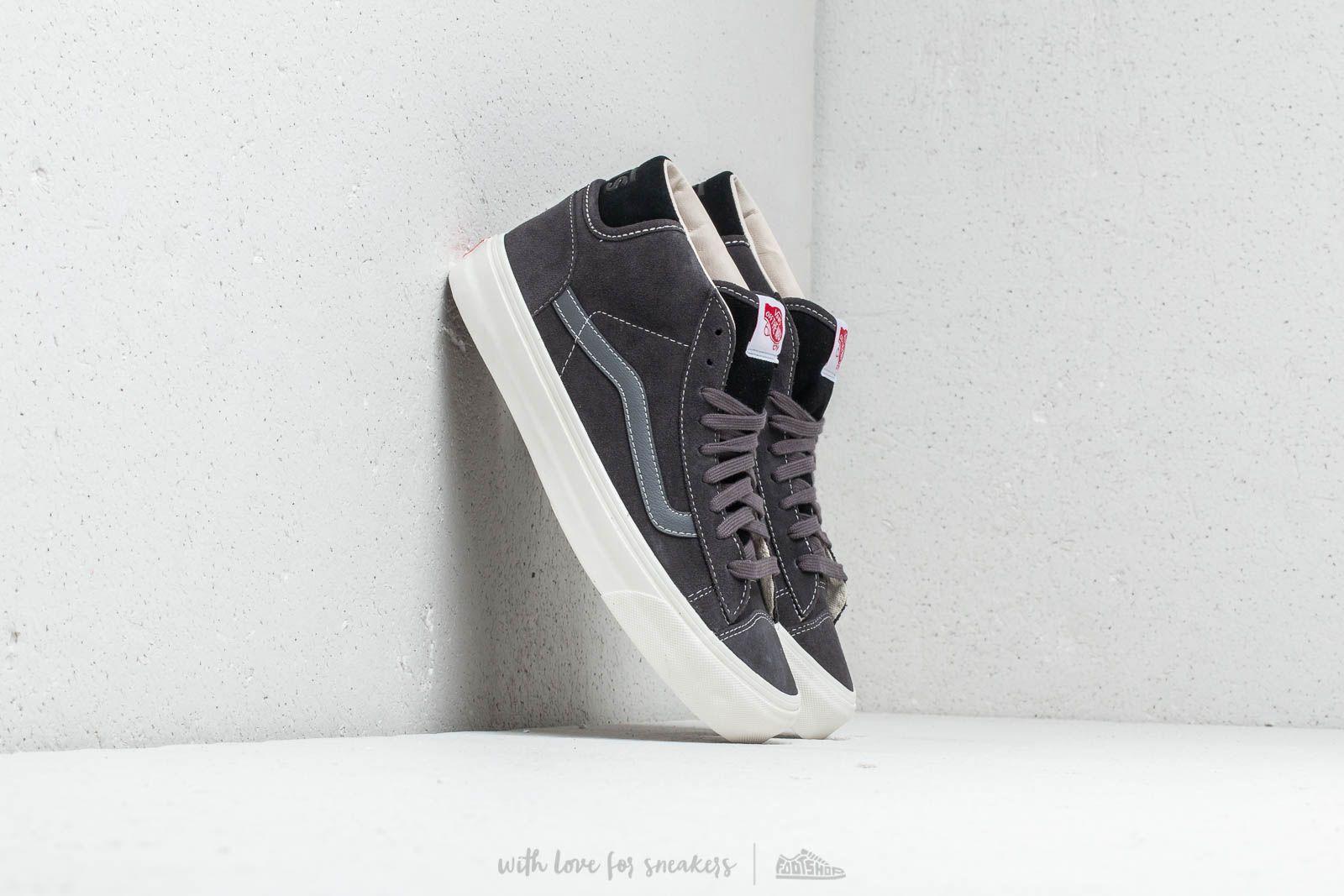Vans OG Mid Skool LX (Suede) Asphalt/ Black za skvělou cenu 1 580 Kč koupíte na Footshop.cz
