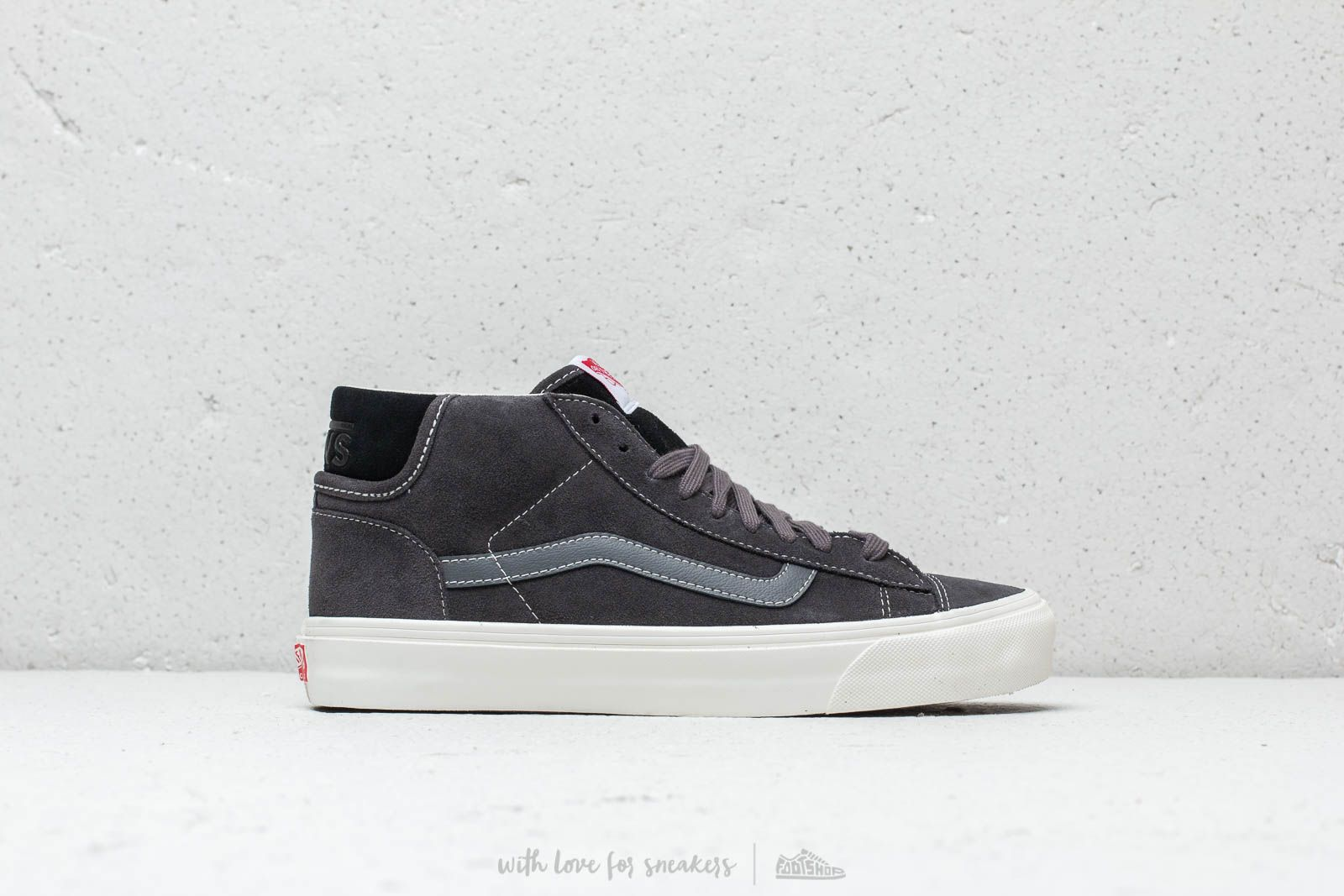 e9b56de4e5 Vans OG Mid Skool LX (Suede) Asphalt  Black at a great price 100