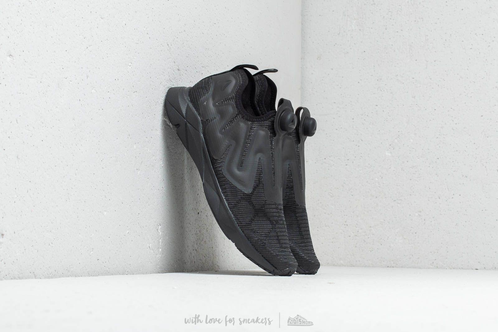 Pánské tenisky a boty Reebok Pump Supreme Flexweave Black/ Ash Grey