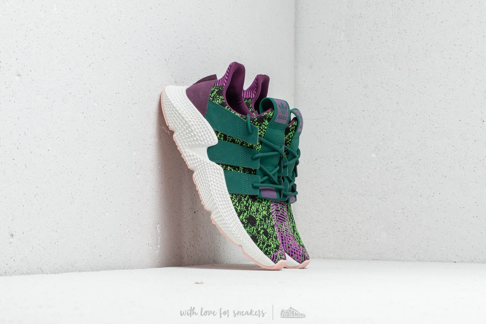 Mount Bank Apellido velocidad  Men's shoes adidas x Dragon Ball Z Prophere Base Green/ Shock Purple/  Supplier Colour