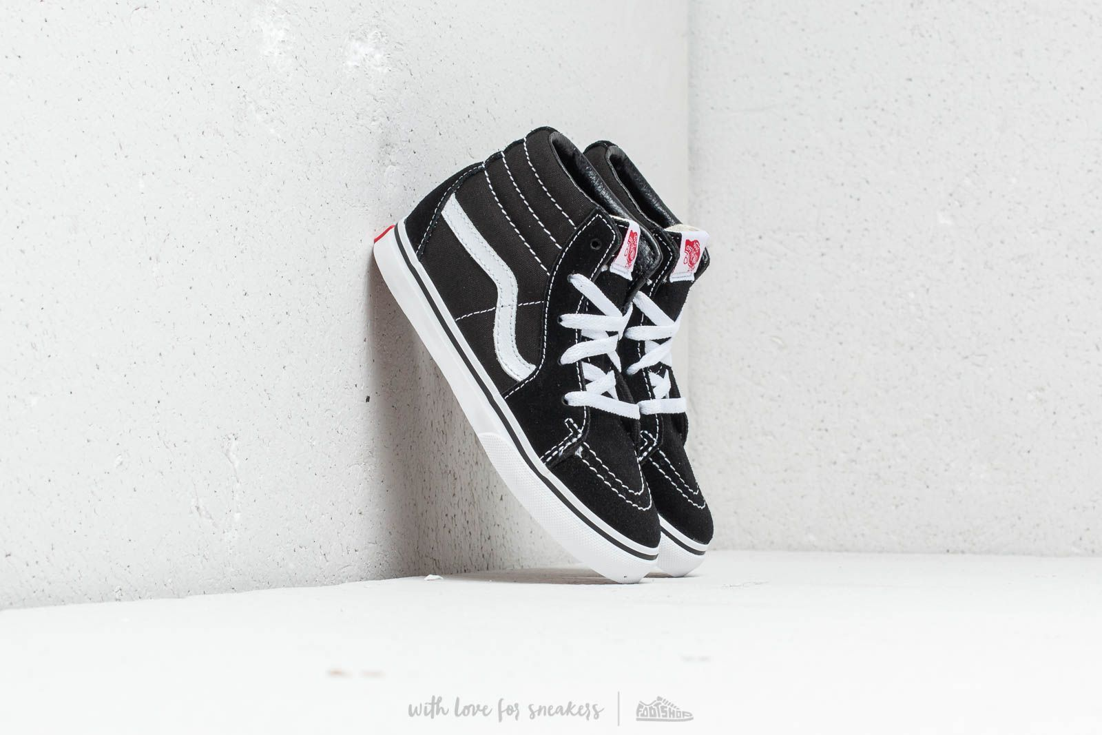 07b00e6f6bc9 Vans Toddler SK8-Hi Black  True White at a great price 43 € buy