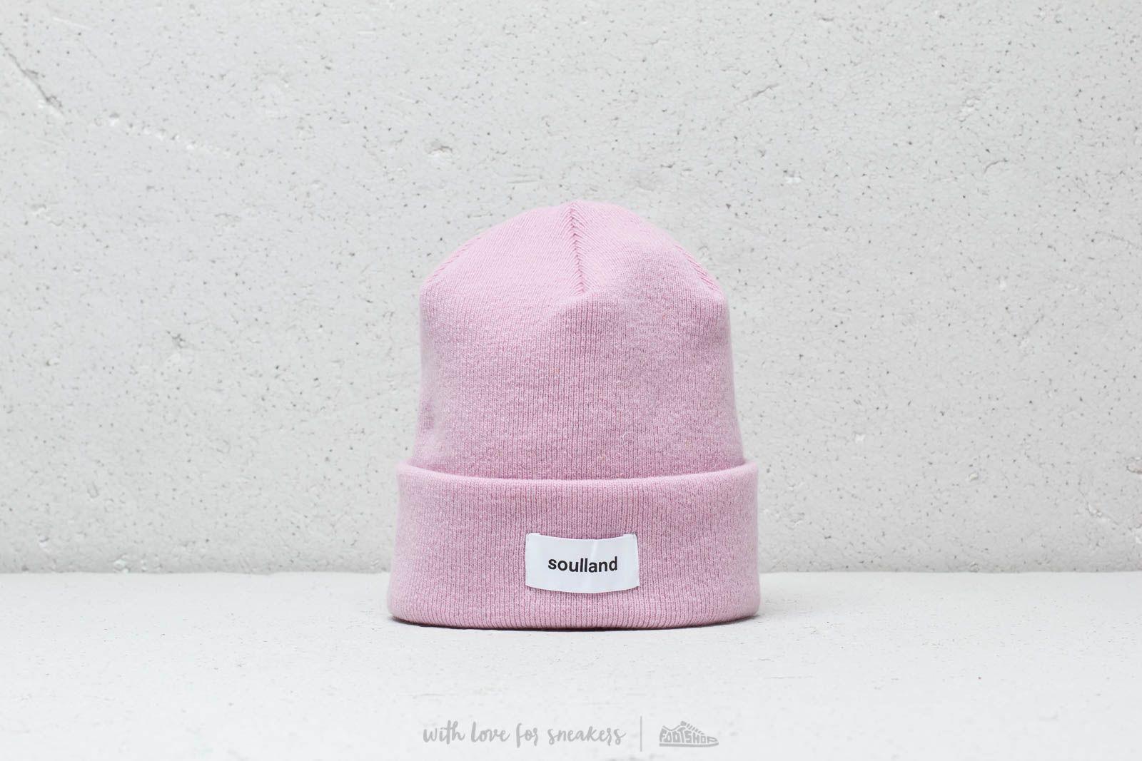 Soulland Villy Beanie Pink za skvělou cenu 954 Kč koupíte na Footshop.cz