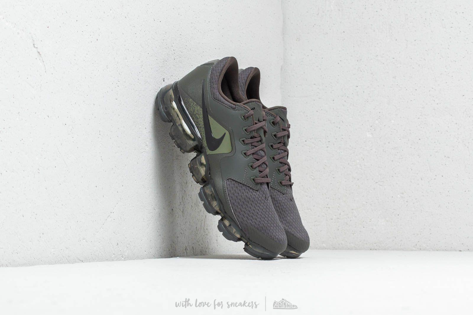 6871652431 Nike Air Vapormax (GS) Newsprint/ Black-Medium Olive at a great price