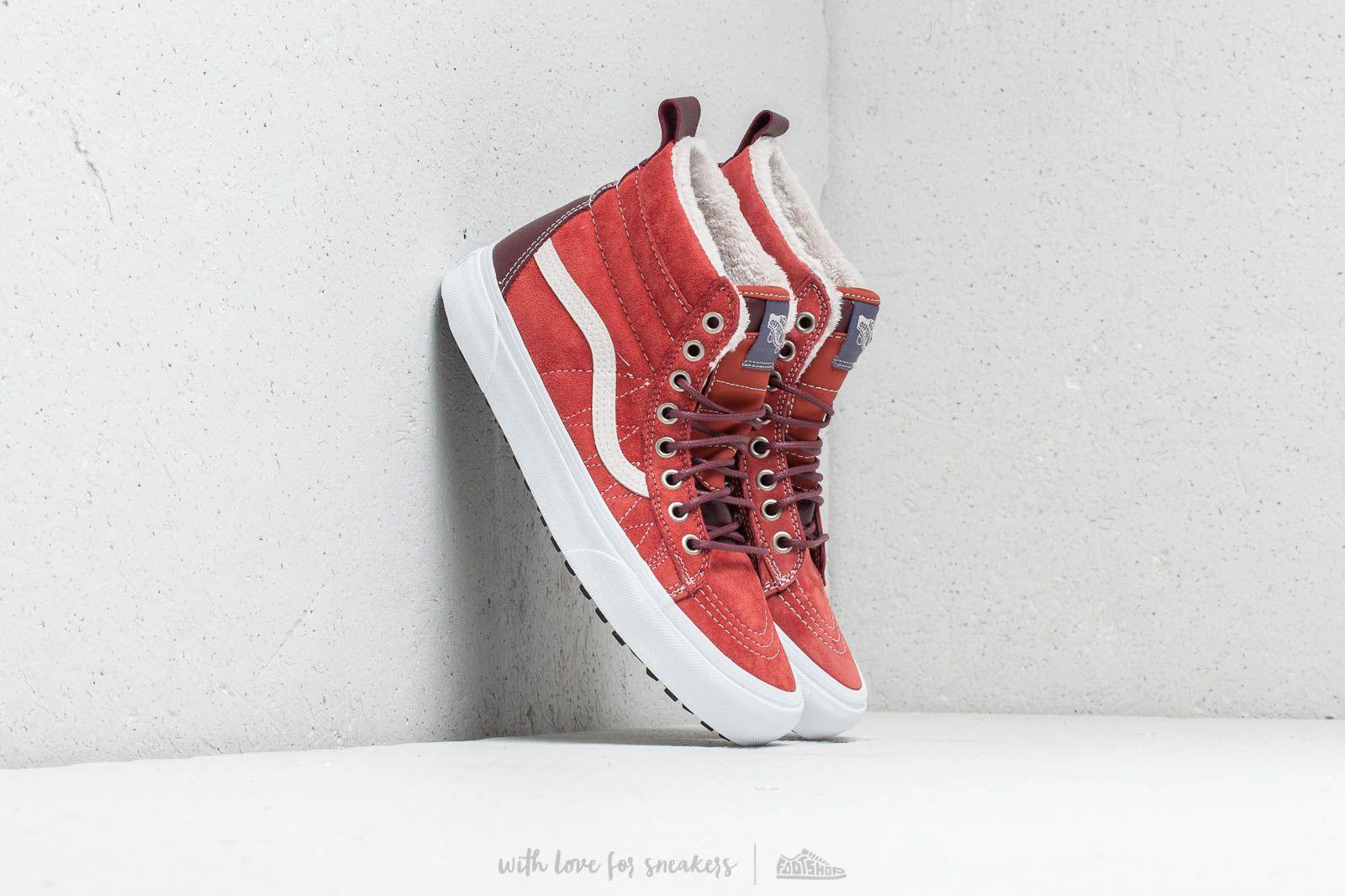 Vans Sk8-Hi MTE Hot Sauce/ Port Royale at a great price $58 buy at Footshop