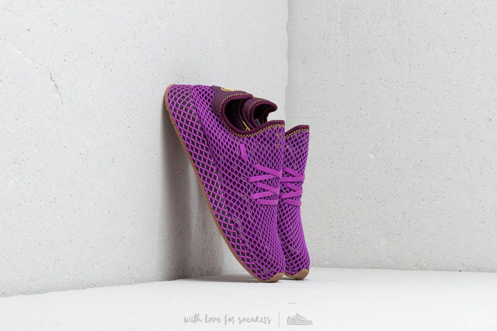 deerupt adidas purple