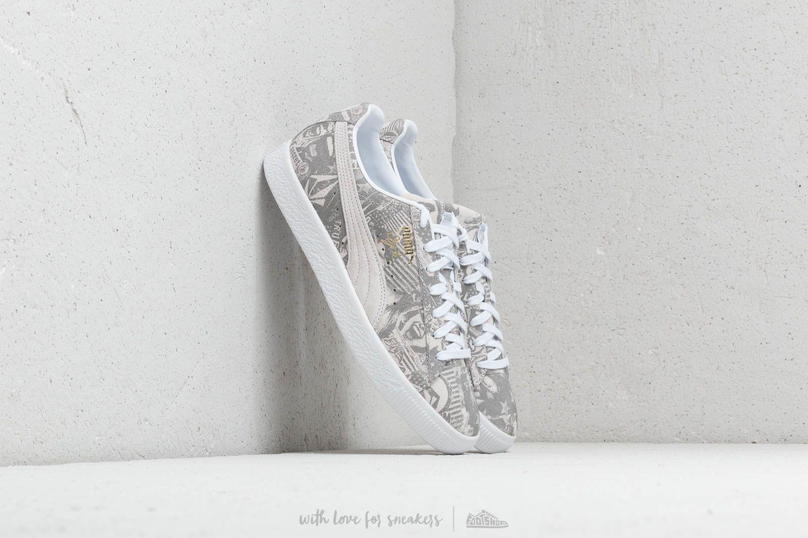 Puma Clyde x Volcom for BLS Puma White/ Puma White za skvělou cenu 2 160 Kč koupíte na Footshop.cz