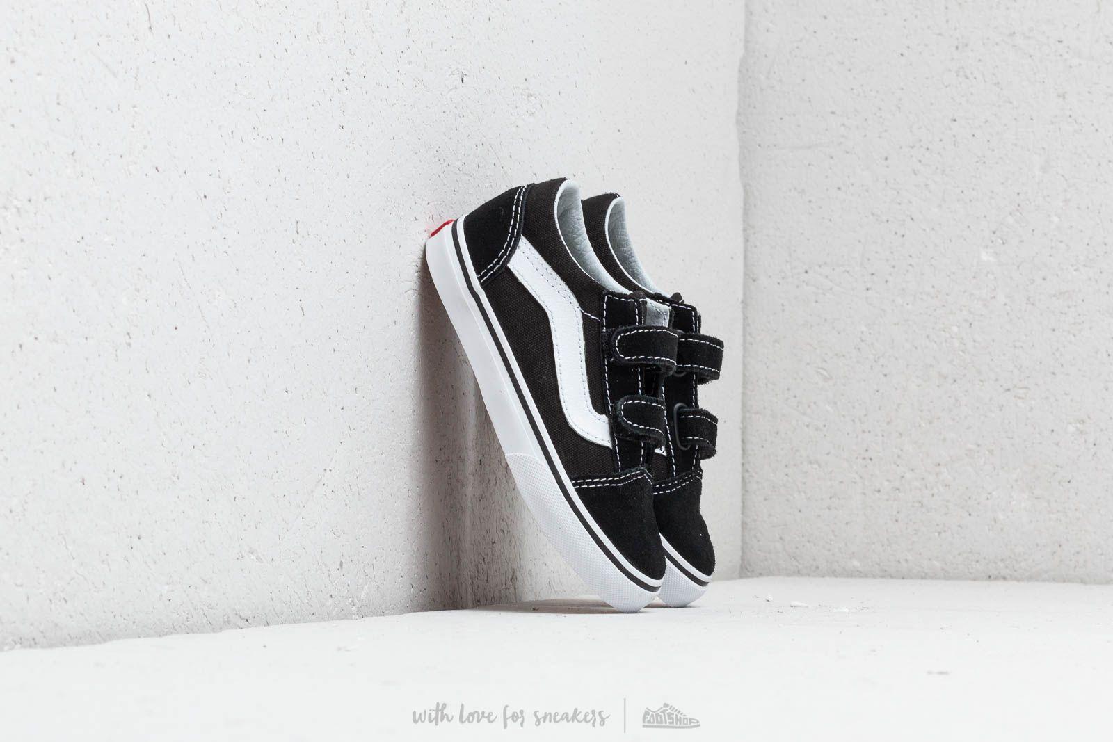 30192aafb Vans Old Skool V Black za skvělou cenu 1 160 Kč koupíte na Footshop.cz