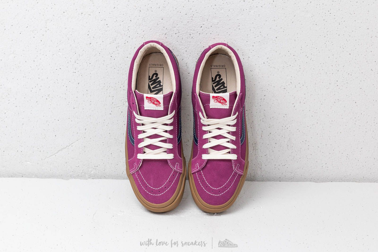 dbe4920b597f8e Vans OG Sk8-Mid LX (Suede  Canvas) Amaranth  Eclipse at a