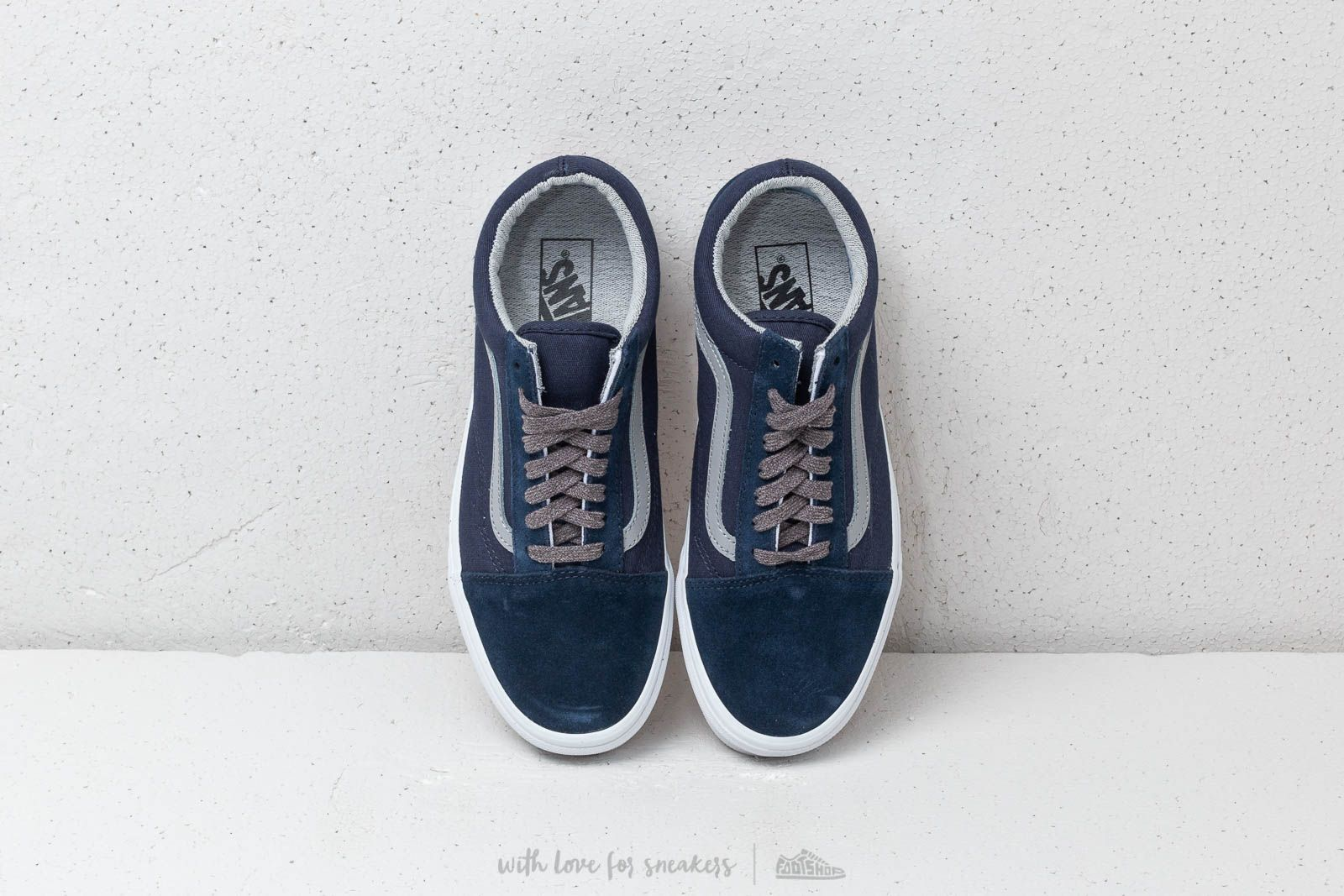 Vans Old Skool (Jersey Lace) Dress Blues Gray | Footshop