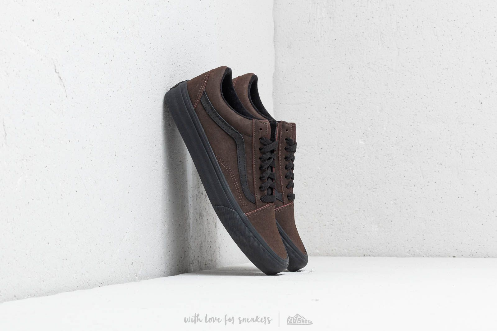 918bc520a29f91 Vans Old Skool (Vansbuck) Demitase  Black