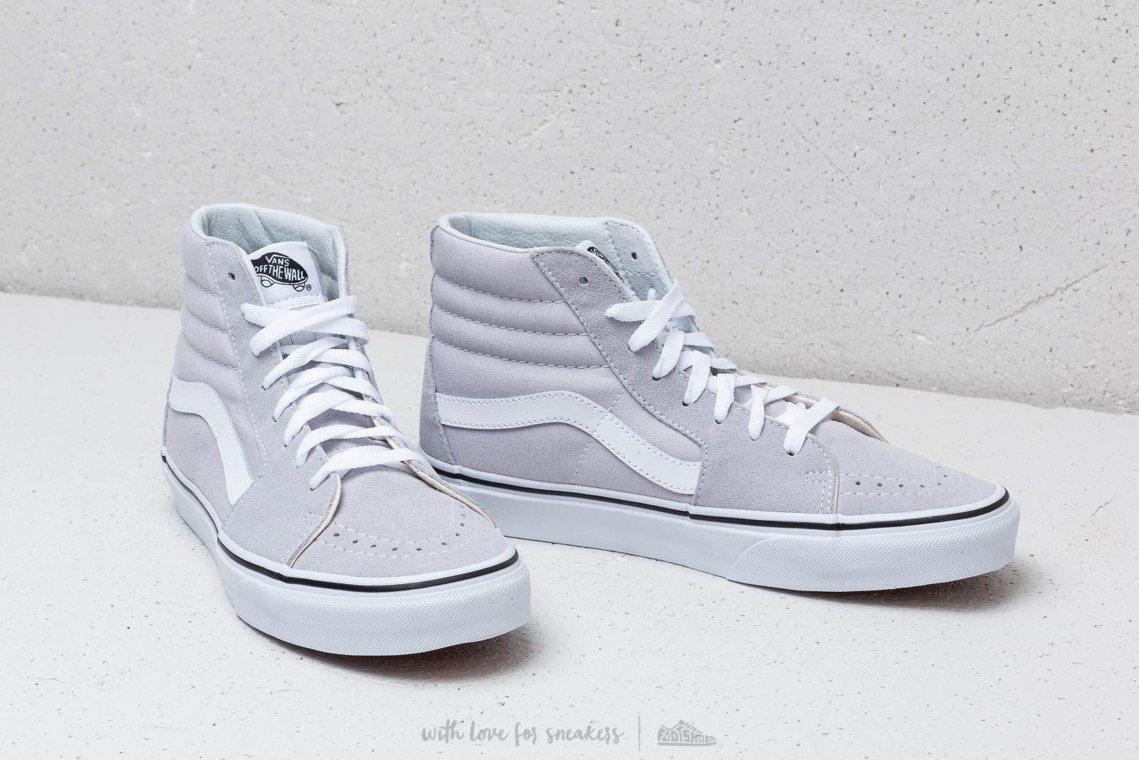 shoes Vans Sk8-Hi Gray Dawn/ True White