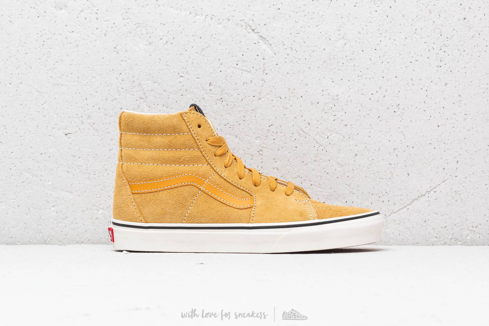 628df0eb4f Vans Sk8-Hi (Hairy Suede) Sunflower  Snow White at a great price