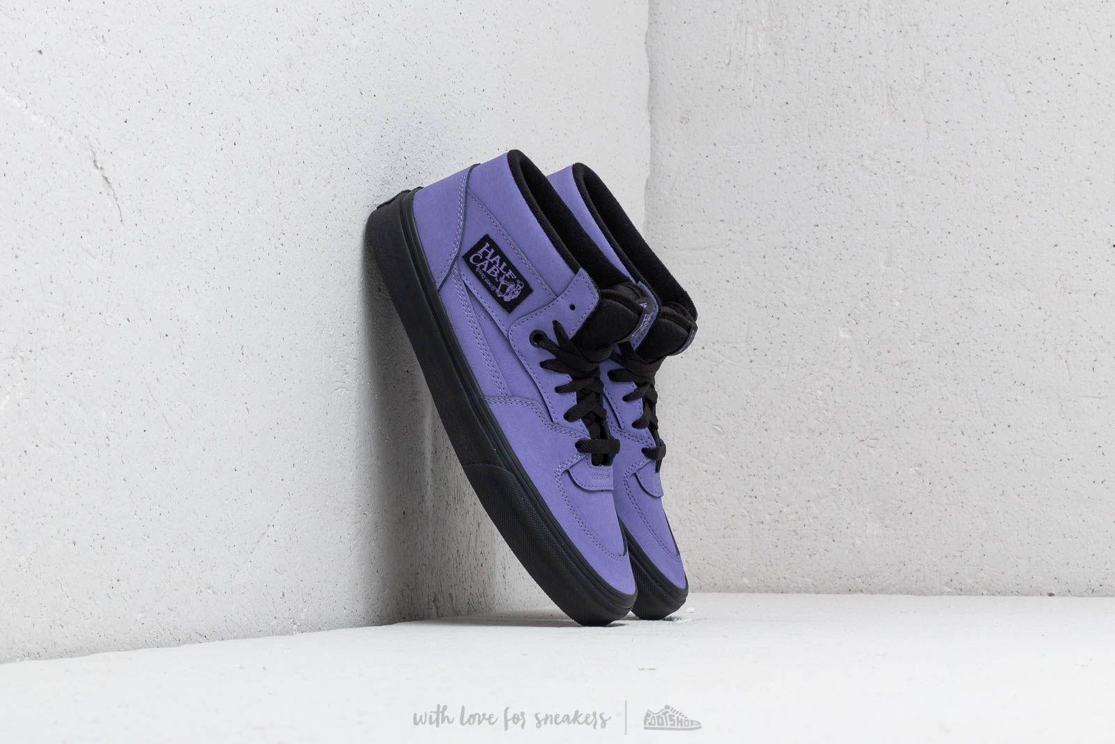 Herren Sneaker und Schuhe Vans Half Cab (Vansbuck) Veronica/ Black