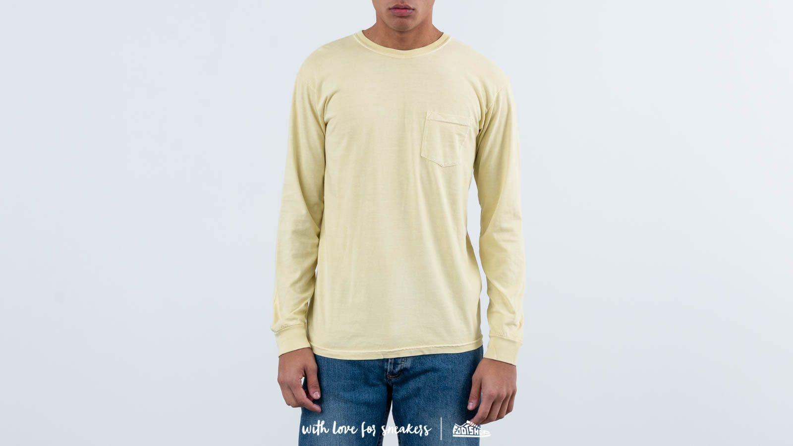 Stüssy Camo Stock Pig Dyed Pkt Ls Yellow za skvělou cenu 1 950 Kč koupíte na Footshop.cz